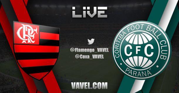 Resultado do jogo Flamengo x Coritiba  na Copa do Brasil 2014