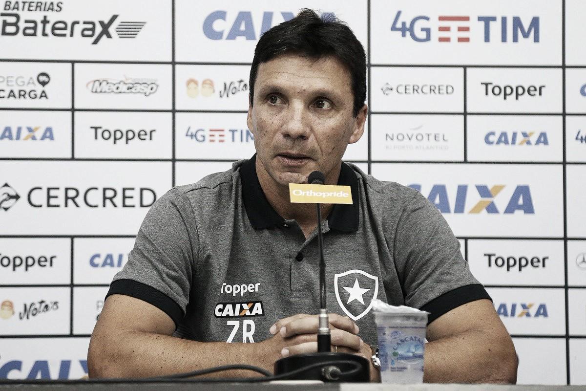 Apresentado no Botafogo, Zé Ricardo projeta evolução e nível de competitividade alto