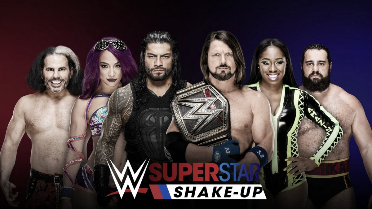 "Previa WWE SmackDown Live 17/04/18: ""continúa el Shake-Up"""