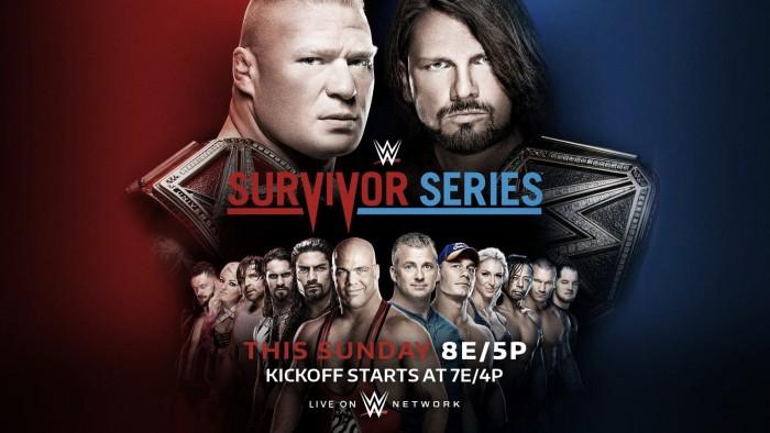 Cartelera WWE Survivor Series 2017