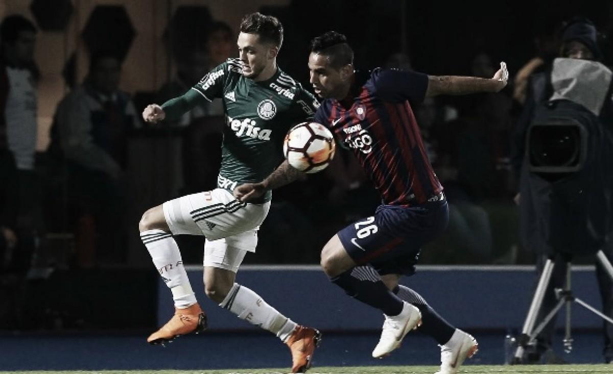 Resultado de Palmeiras x Cerro Porteño pela Copa Libertadores da América (0-1)