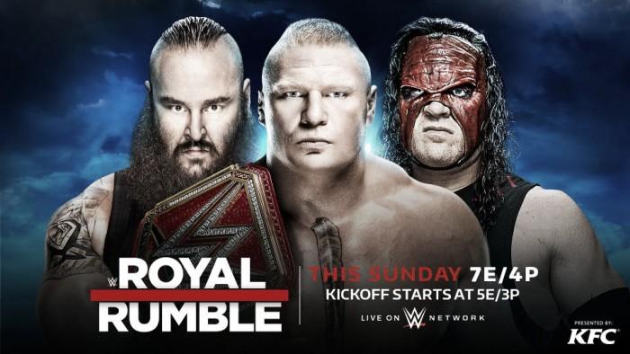 Cartelera WWE Royal Rumble 2018