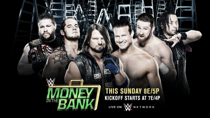 Cartelera WWE Money In The Bank 2017