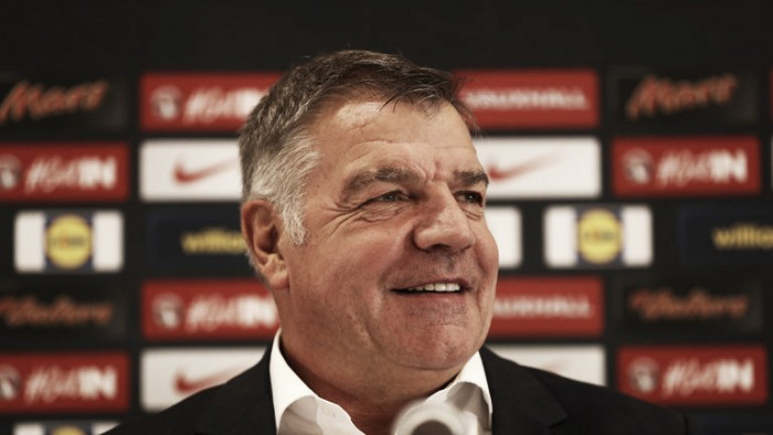 Sam Allardyce announces his first-ever England squad