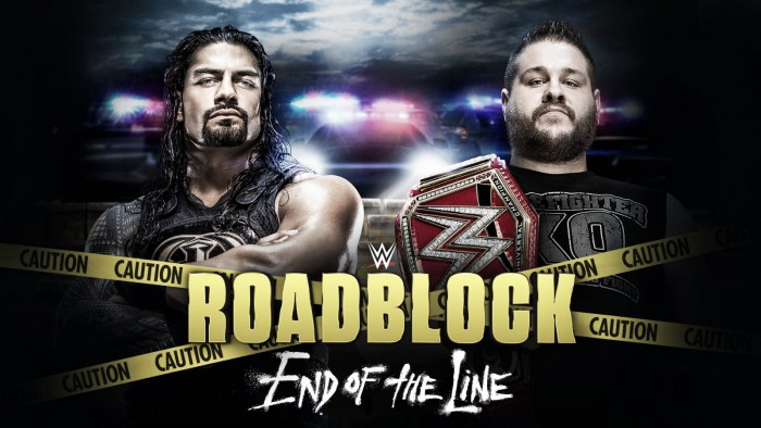 Cartelera WWE Roadblock: End Of The Line 2016
