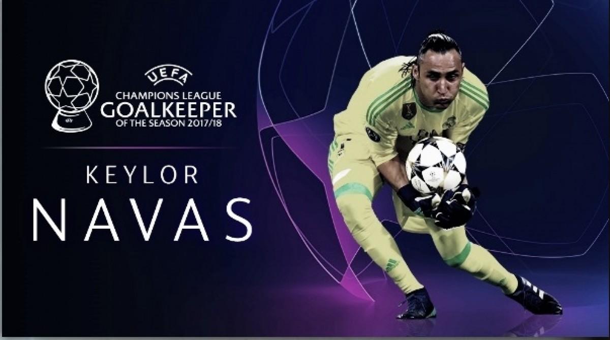 Navas é eleito melhor goleiro da Europa na temporada 2018-19