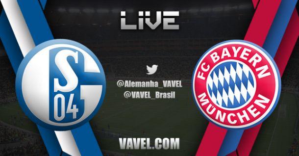 Resultado do jogo Schalke 04 x Bayern de Muniqu na Bundesliga