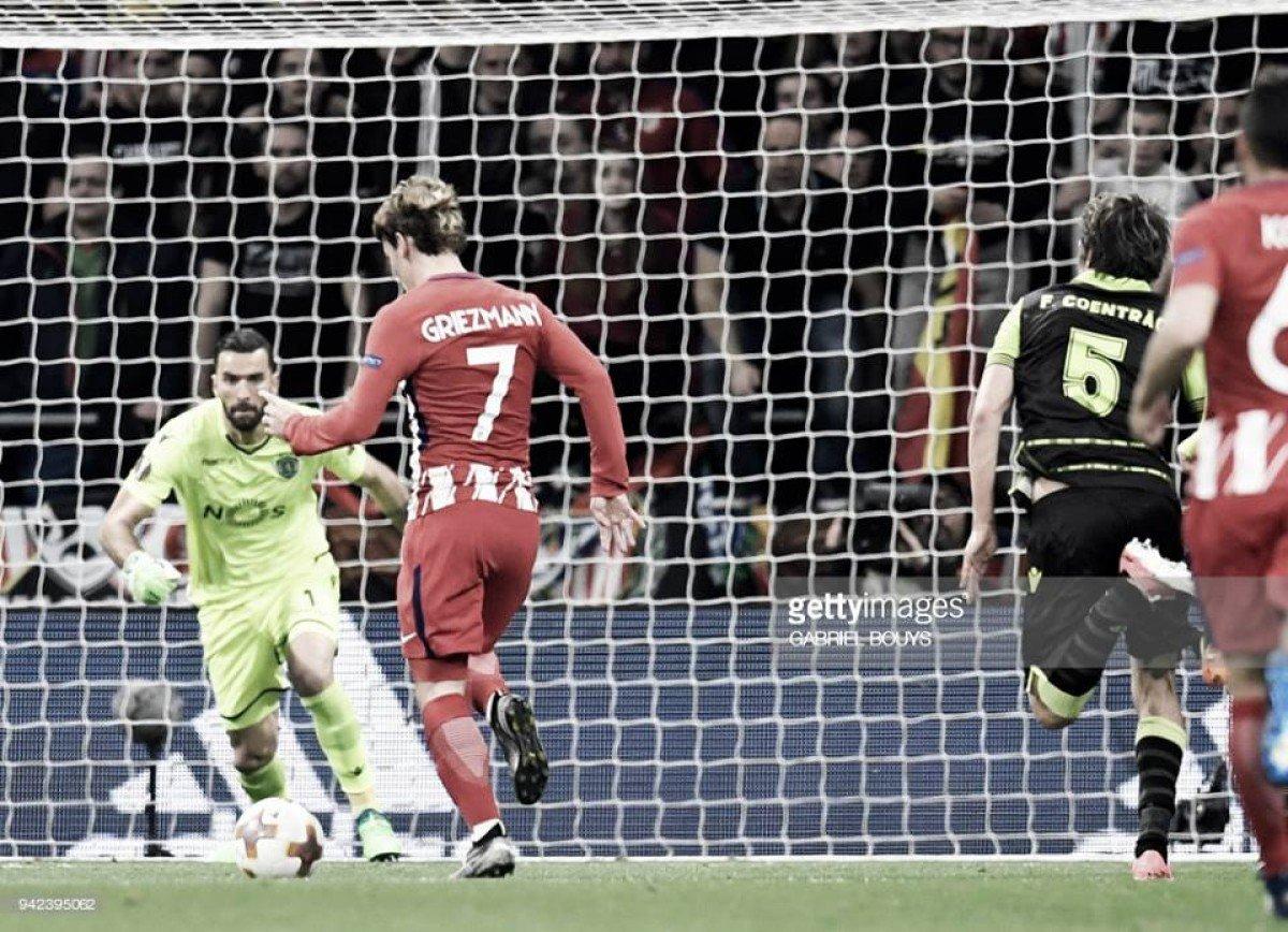Atlético enfrenta clima de tensão em Alvalade
