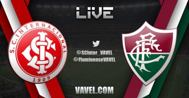 Resultado do jogo Internacional x Fluminense ao vivo no Campeonato Brasileiro 2014