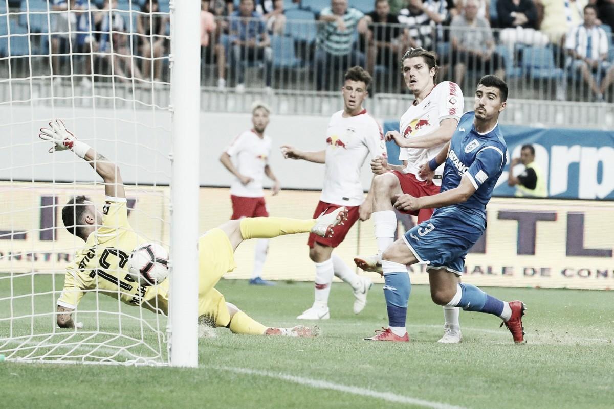Craiova consegue empate no fim, mas RB Leipzig se classifica à próxima fase da Europa League