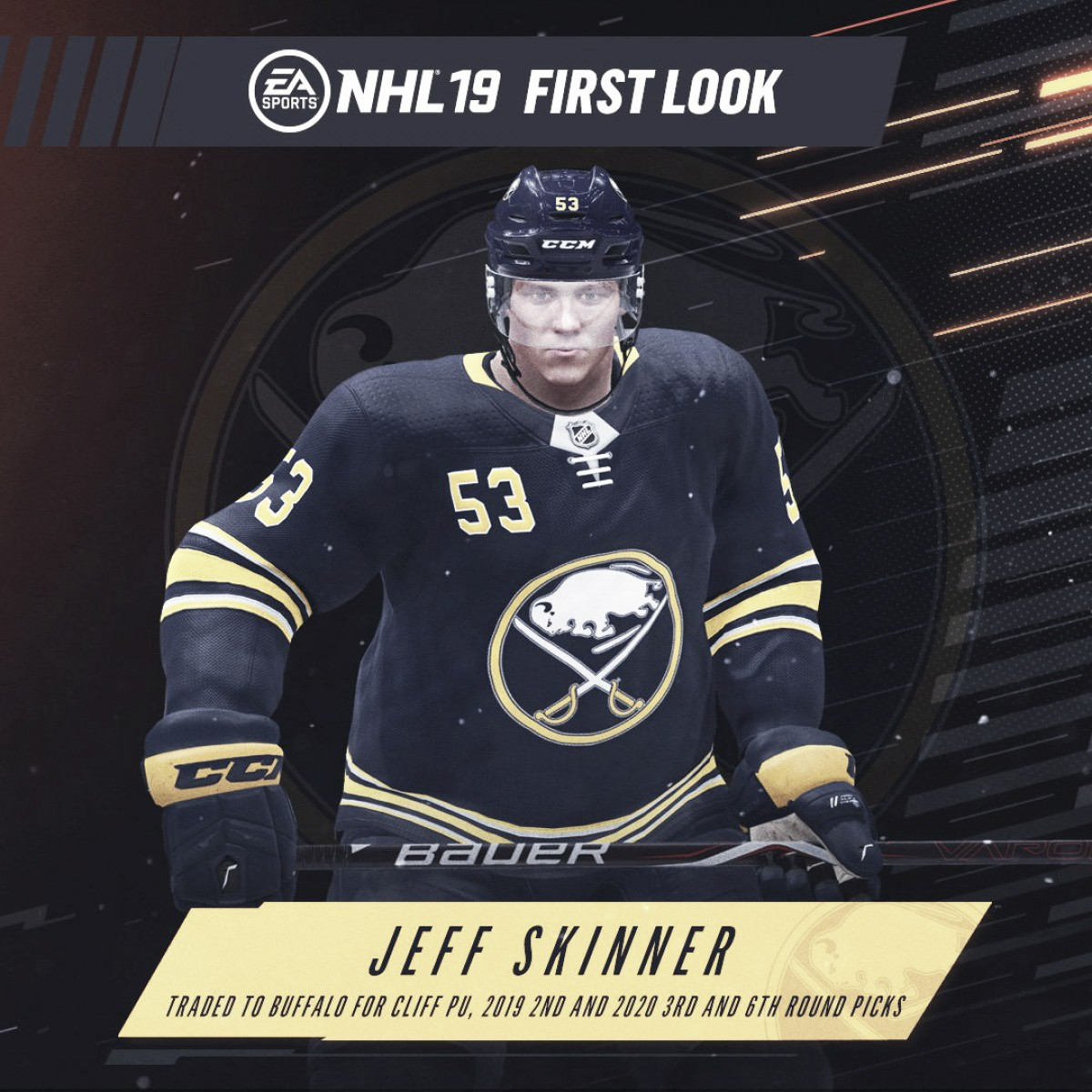 on sale 29eb5 0f15d Buffalo Sabres: Sabres Acquire Jeff Skinner from Hurricanes ...