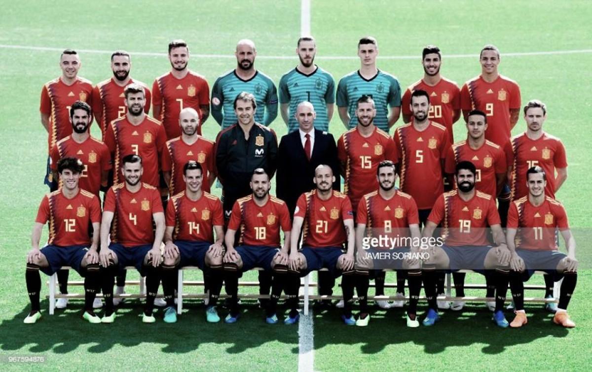 Rússia 2018: Espanha