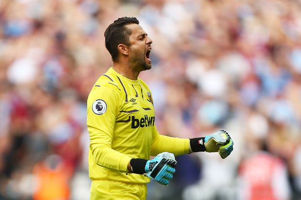 The silenced goalkeeper situation at West Ham