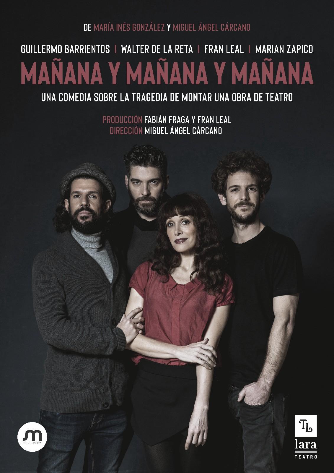 """""""Mañana y mañana y mañana"""", el teatro desde dentro"""