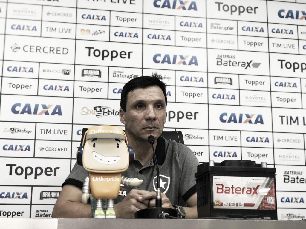 Zé Ricardo elogia entrega do Botafogo e destaca importância da vitória contra o Flamengo