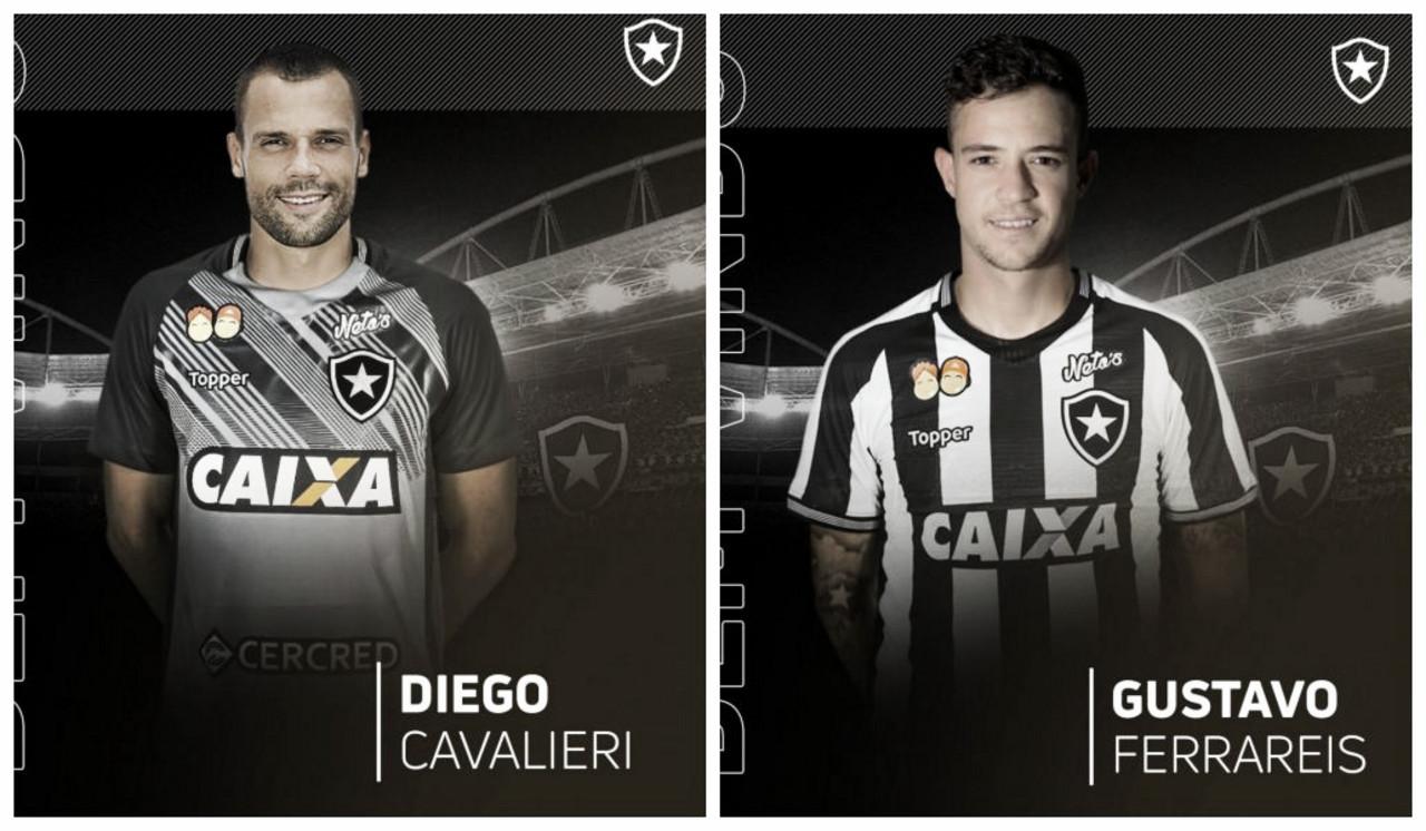 Botafogo anuncia Diego Cavalieri e Gustavo Ferrareis como primeiros reforços para 2019
