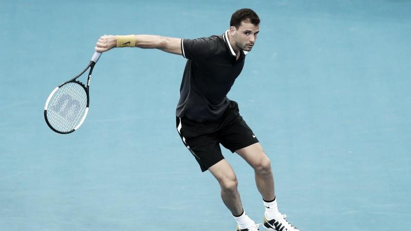 Dimitrov vence Nishioka e estreia com pé direito no ATP 250 de Brisbane