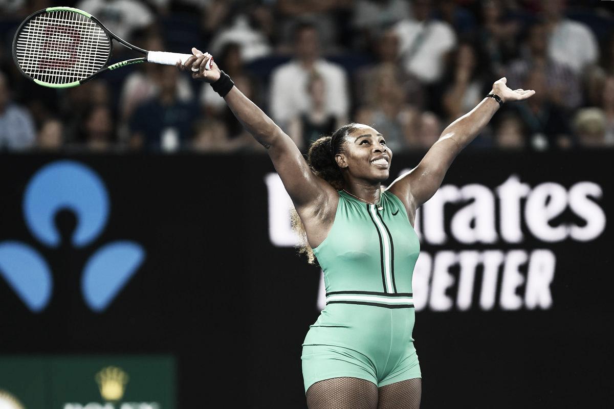Serena passa fácil por Bouchard e avança no Aberto da Austrália