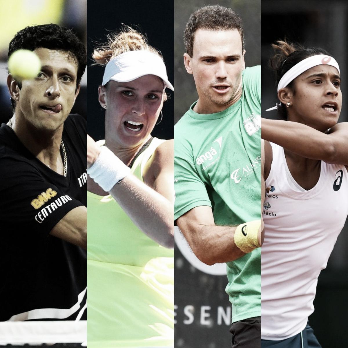 Rio Open anuncia exibição de duplas mistas entre tenistas brasileiros