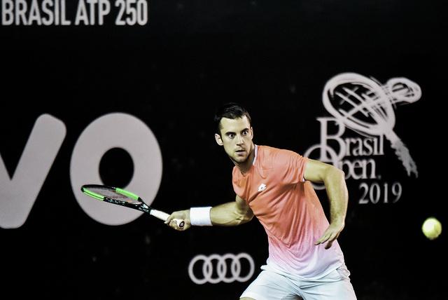 Campeão no Rio, Djere estreia com vitória sobre Giannessi no Brasil Open