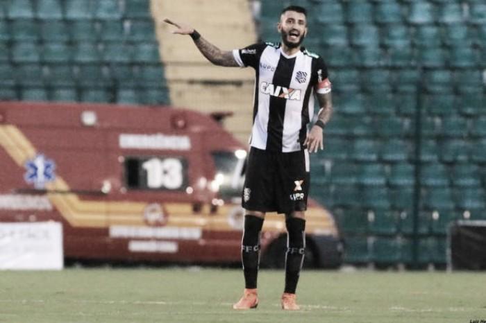 Jogadores do Figueirense lamentam pouca produção ofensiva contra Coritiba