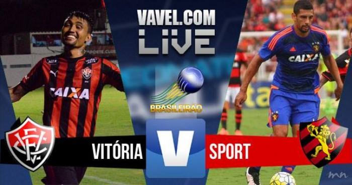 Resultado Vitória x Sport no Campeonato Brasileiro 2016 (3-2)