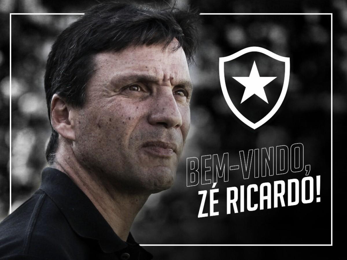 Com terceira passagem no Rio, Zé Ricardo é anunciado como técnico do Botafogo