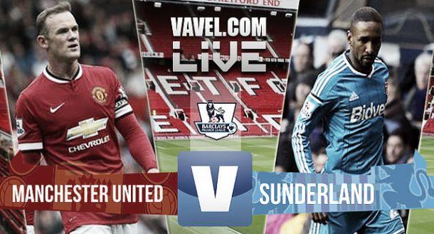 Manchester United vs Sunderland en vivo online (0-0)