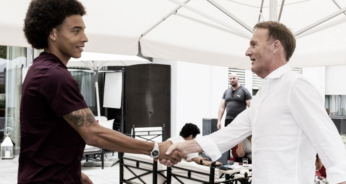 Borussia Dortmund oficializa contratação do meia belga Witsel, ex-Tianjin