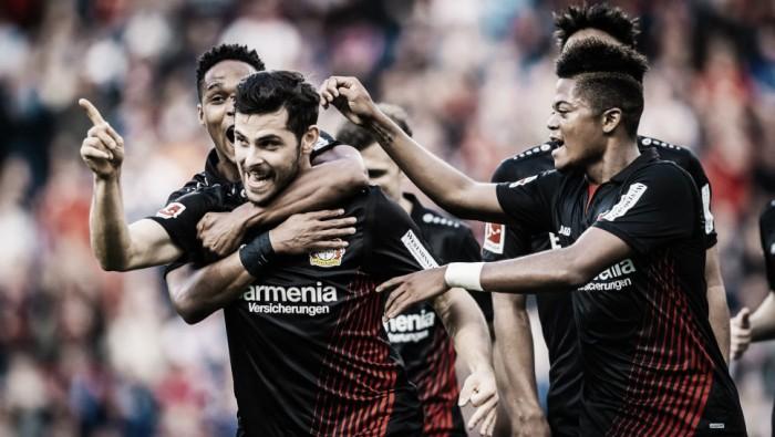 Bayer Leverkusen supera início ruim e se consolida na briga por competições europeias