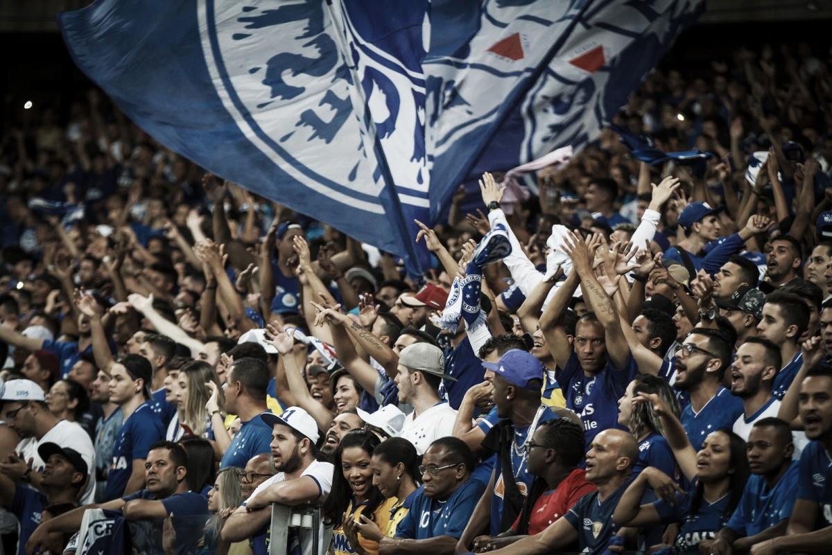 Casa cheia! Sócios-torcedores do Cruzeiro esgotam ingressos contra Flamengo pela Libertadores