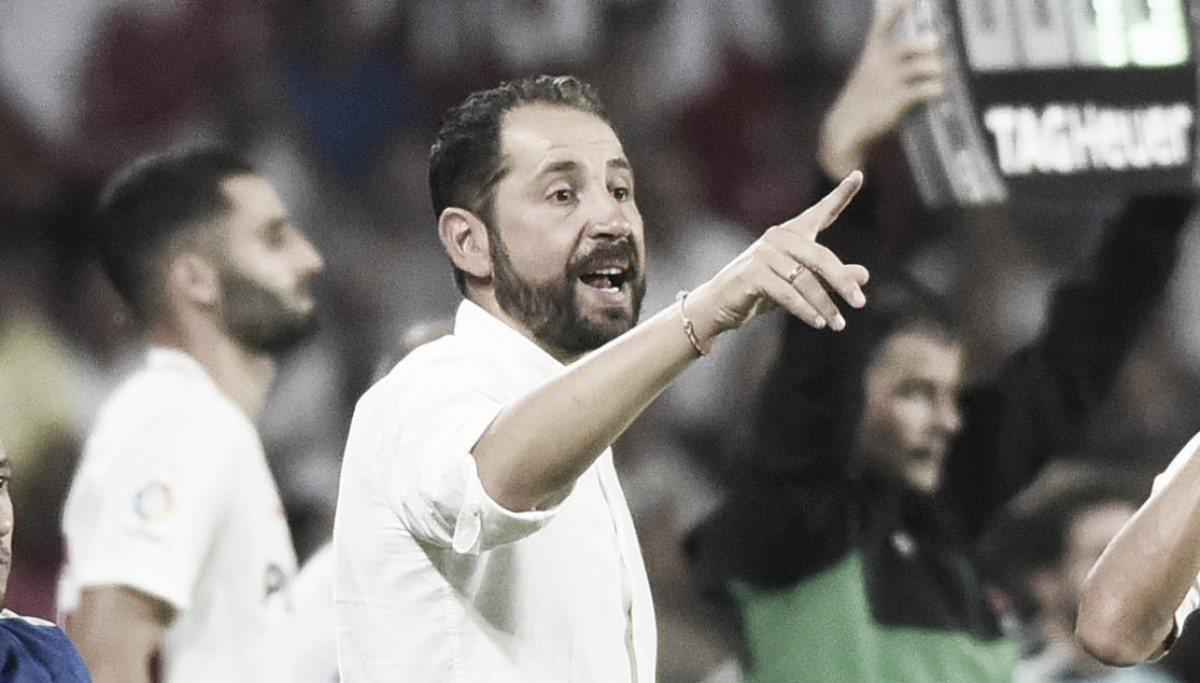 "Pablo Machín parabeniza classificação do Sevilla na Europa League: ""Confiança é transmitida"""