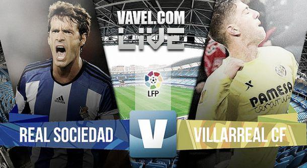 Resultado Real Sociedad vs Villarreal 2015 (0-0)