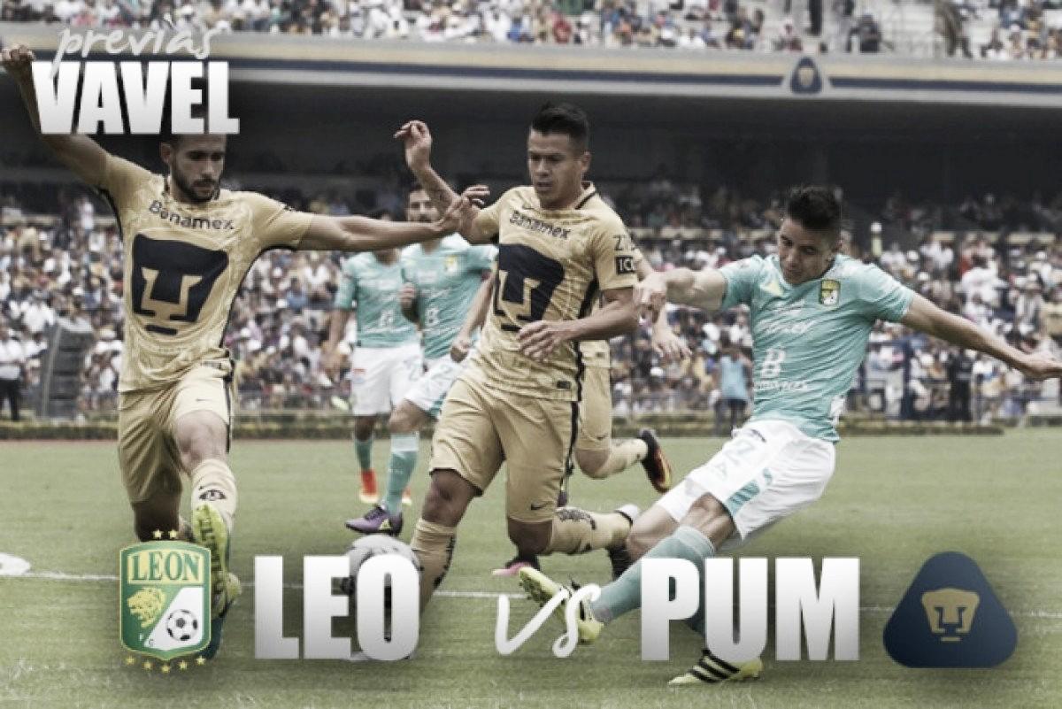 Previa León vs Pumas: encuentro de dos realidades
