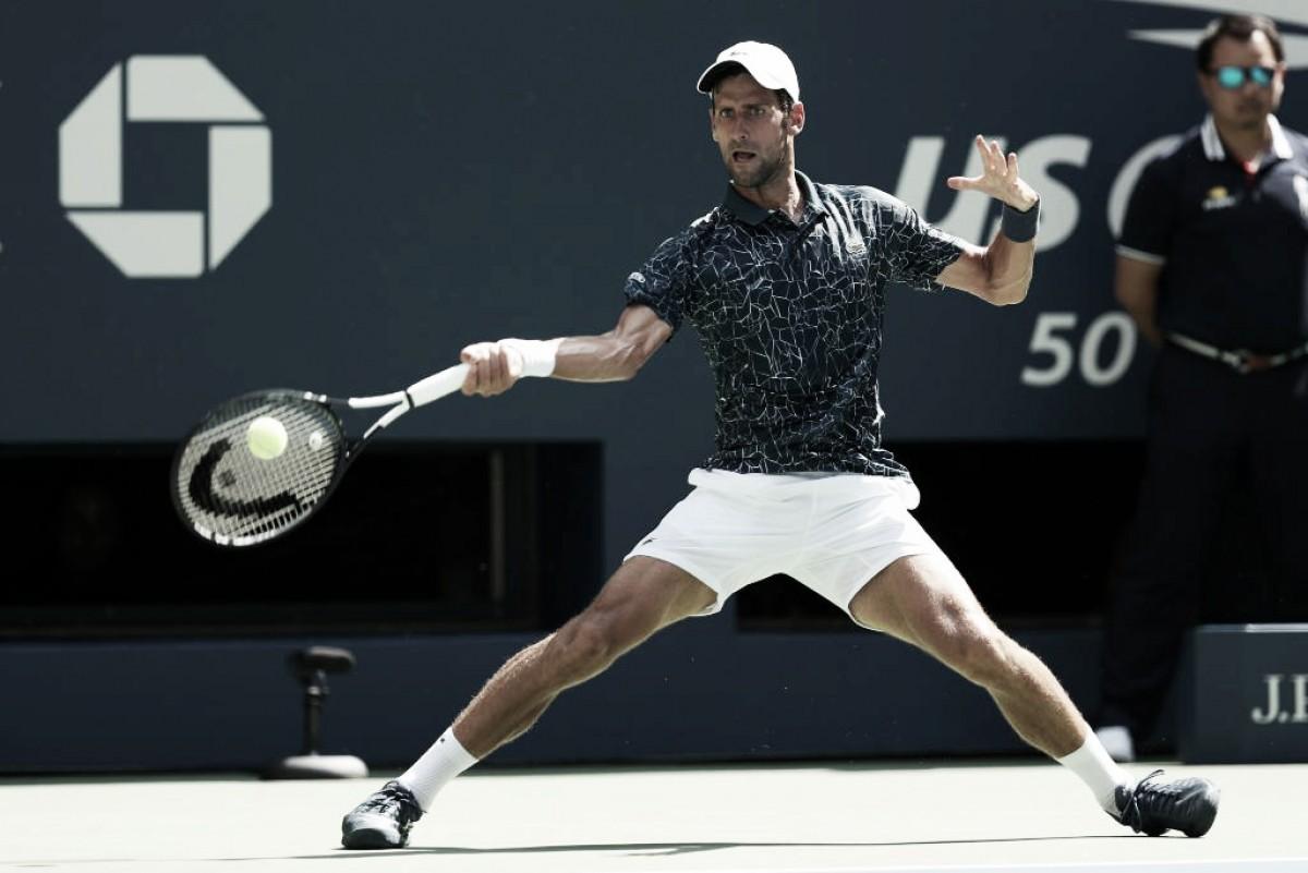 Em jogo marcado pelo forte calor, Djokovic triunfa sobre Fucsovics e segue vivo no US Open