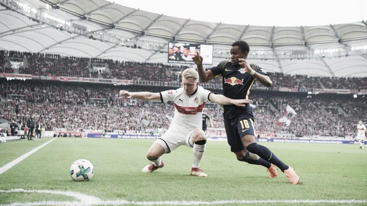 Fora da zona de classificação à Champions, RBLeipzigempata sem gols comStuttgart