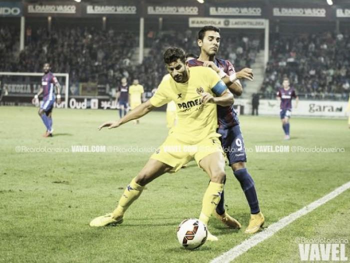 Igualados precedentes en los Eibar-Villarreal
