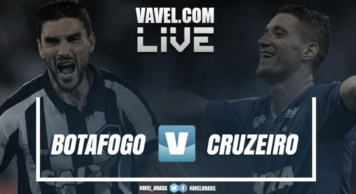 Resultado final de Botafogo x Cruzeiro AO VIVO pelo Campeonato Brasileiro 2018 (1-1)