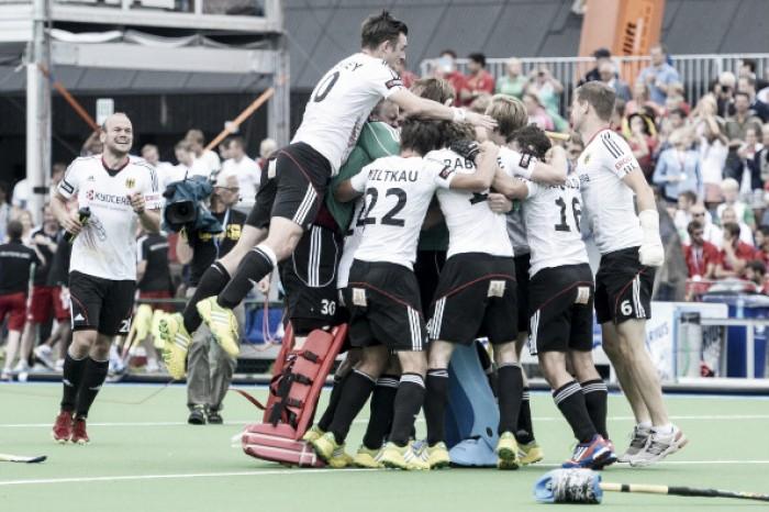 Atual campeã Alemanha bate Canadá com facilidade no hóquei de grama masculino