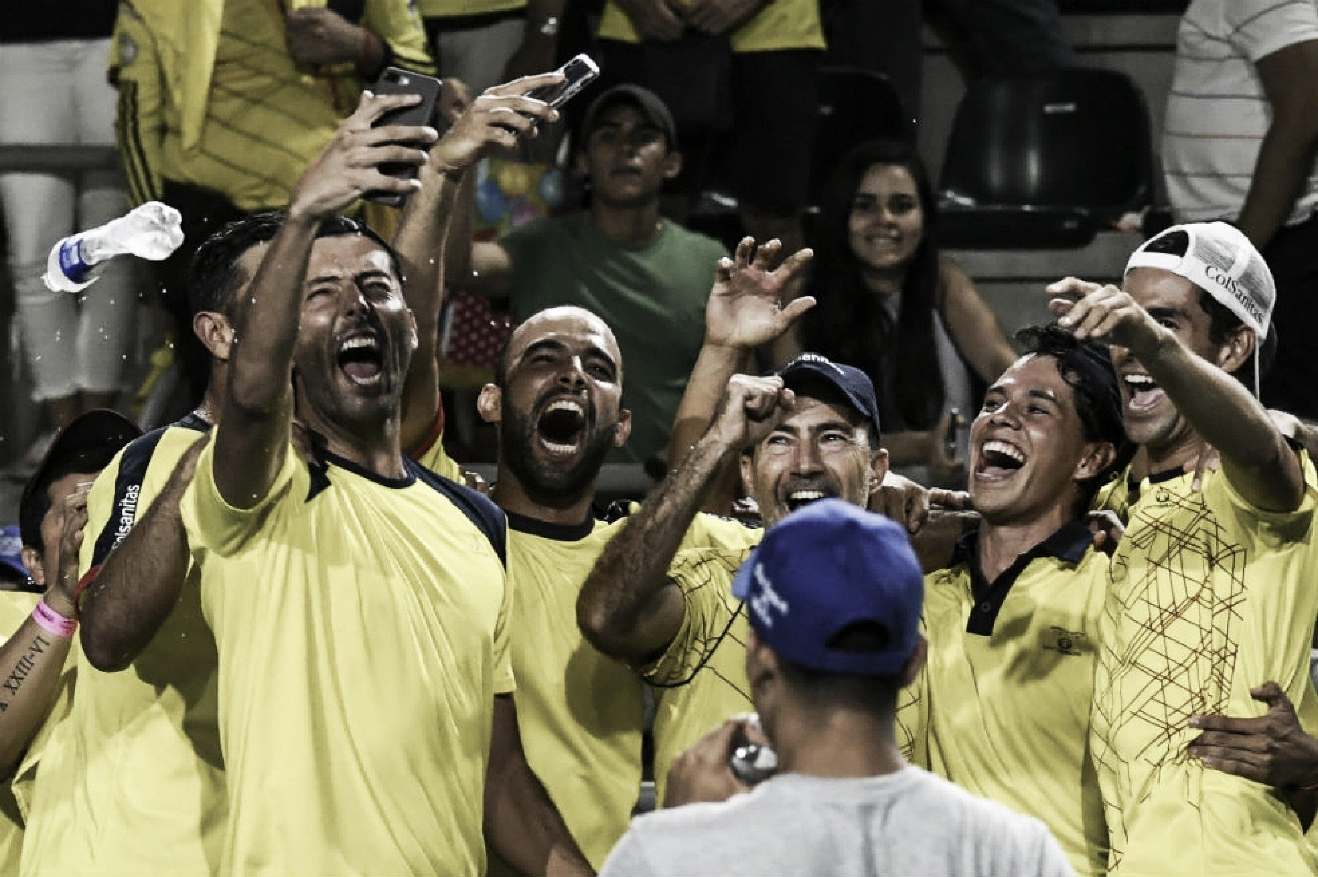Copa Davis ARG-COL: Como llegan los cafeteros