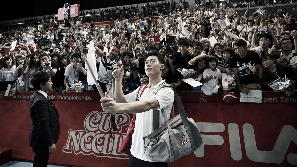 No duelo de compatriotas, Nishikori sobra e leva a melhor sobre Sugita em Tóquio