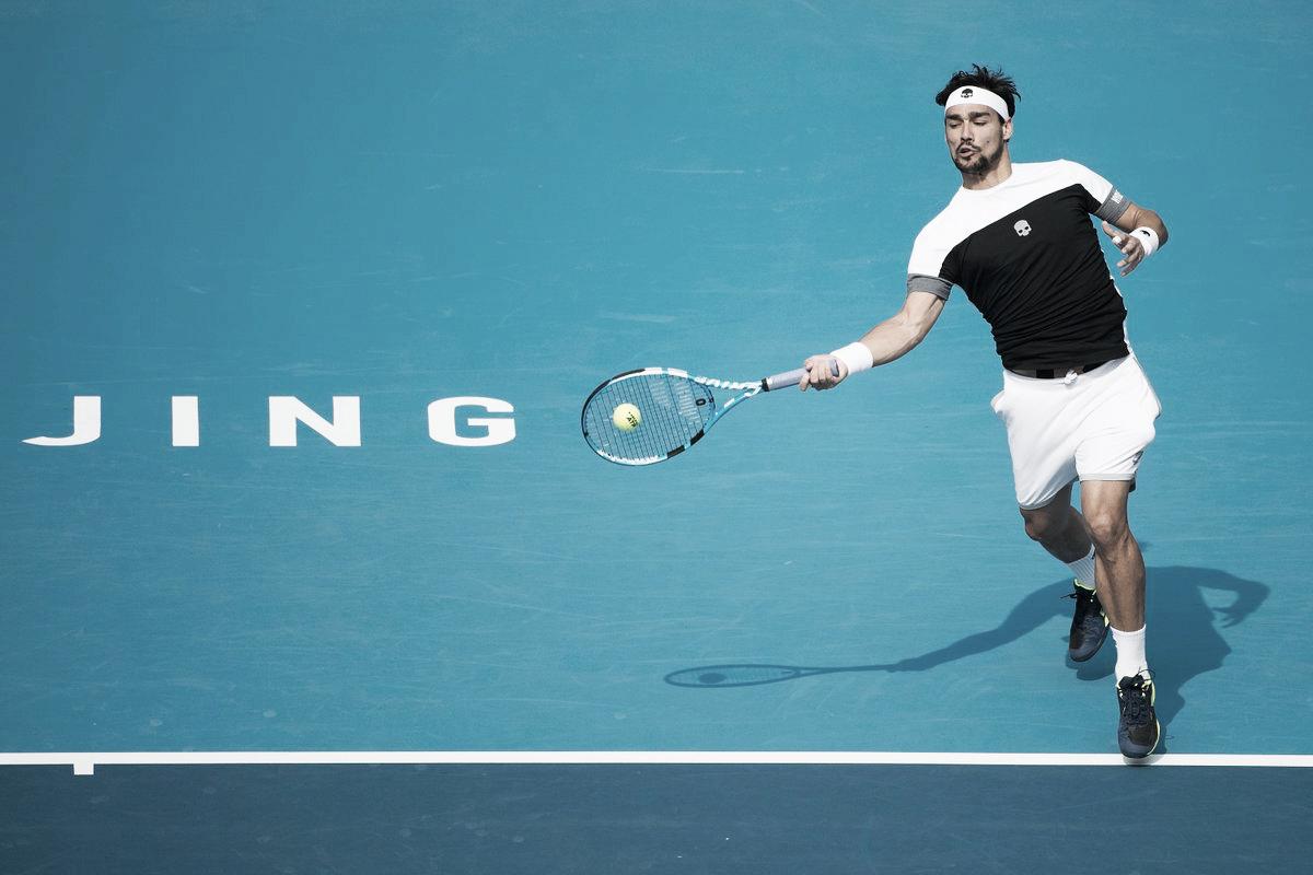 Com atuação segura, Fognini vence Fucsovics e avança às semis no ATP 500 de Pequim