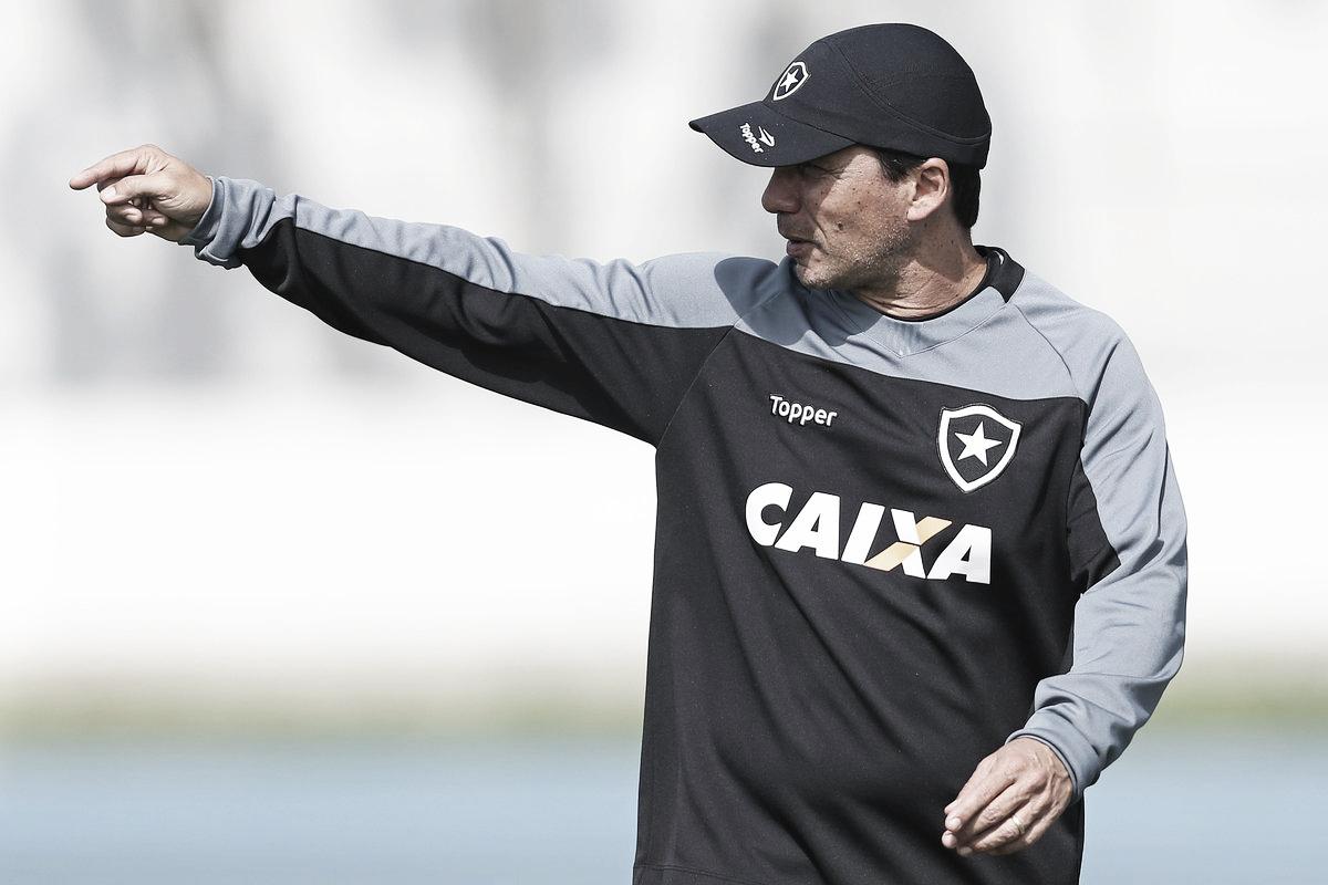Após empate sem gols, Zé Ricardo se diz desapontado e critica atuação abaixo do Botafogo