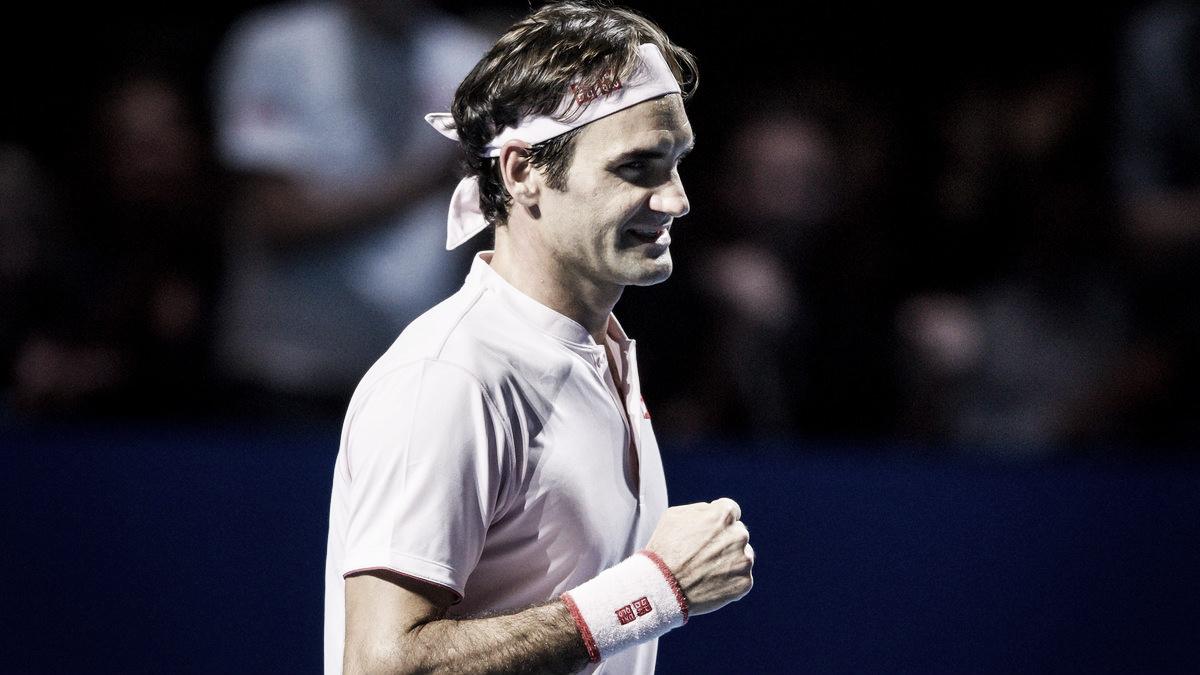 Com atuação convincente, Federer bate Medvedev e atinge 14ª final na Basileia