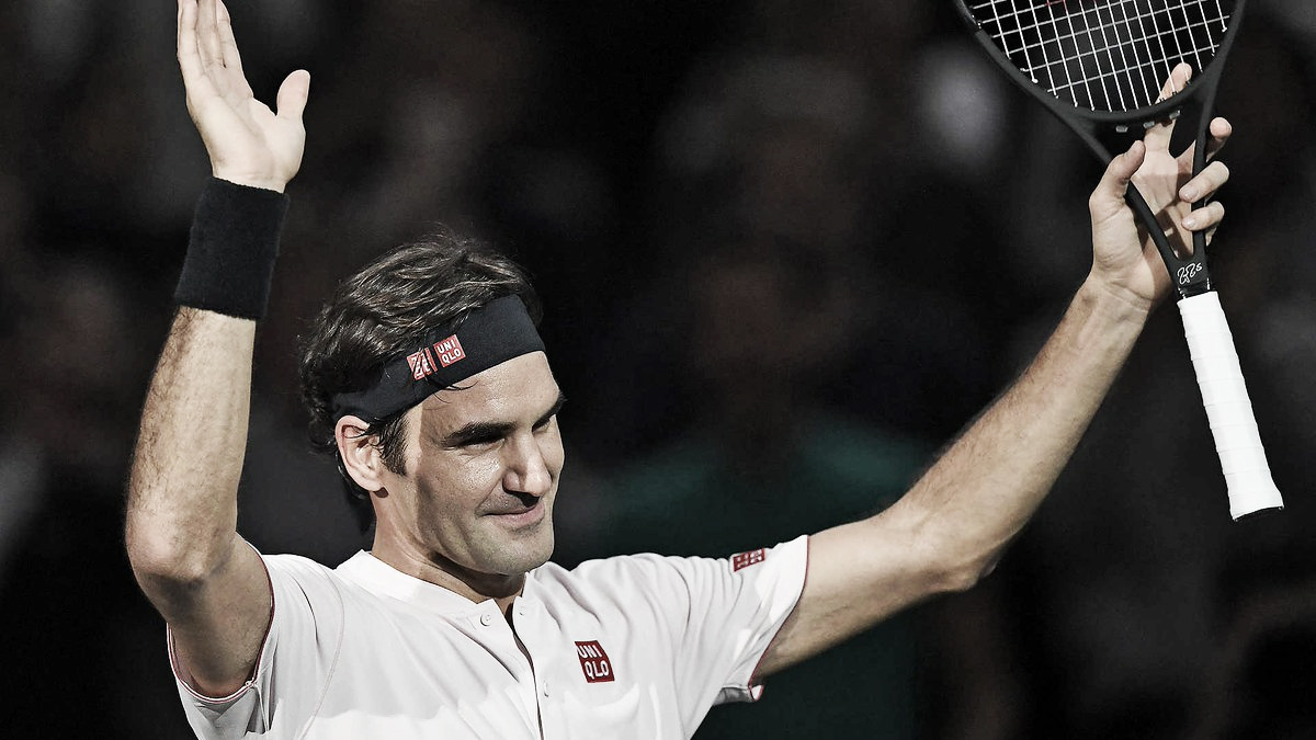 Federer estreia no Masters 1000 de Paris com vitória tranquila sobre Fognini