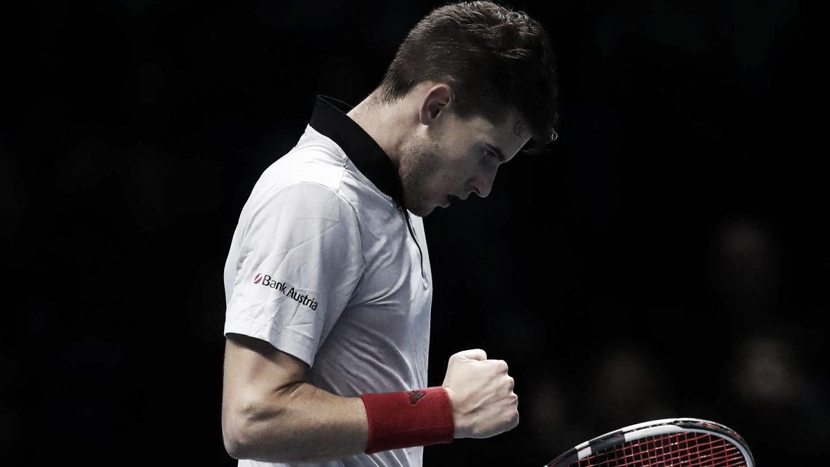 Thiem domina Nishikori, classifica Anderson e nutre chances no ATP Finals