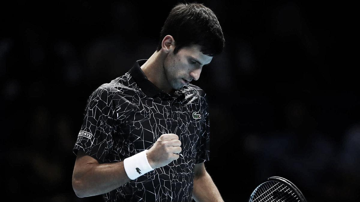 Soberano, Djokovic derrota Anderson e avança para sua sétima final no ATP Finals