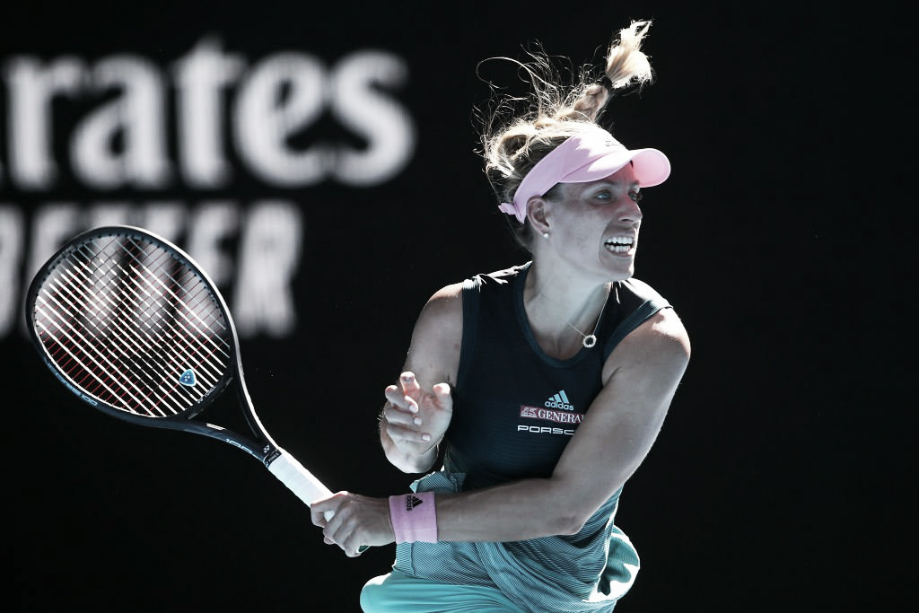 Kerber domina Hercog e vai enfrentar Bia Haddad na segunda rodada do Australian Open
