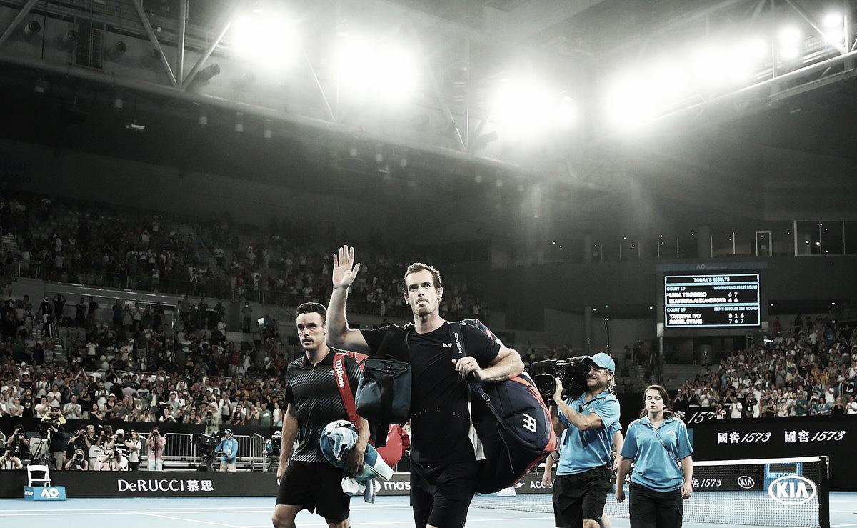 """Murray agradece fãs e deixa futuro no tênis em aberto: """"Farei tudo que for possível"""""""