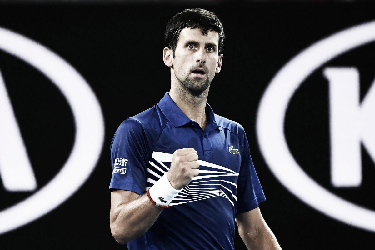 Em partida segura, Djokovic derrota freguês Tsonga e segue firme no Australian Open